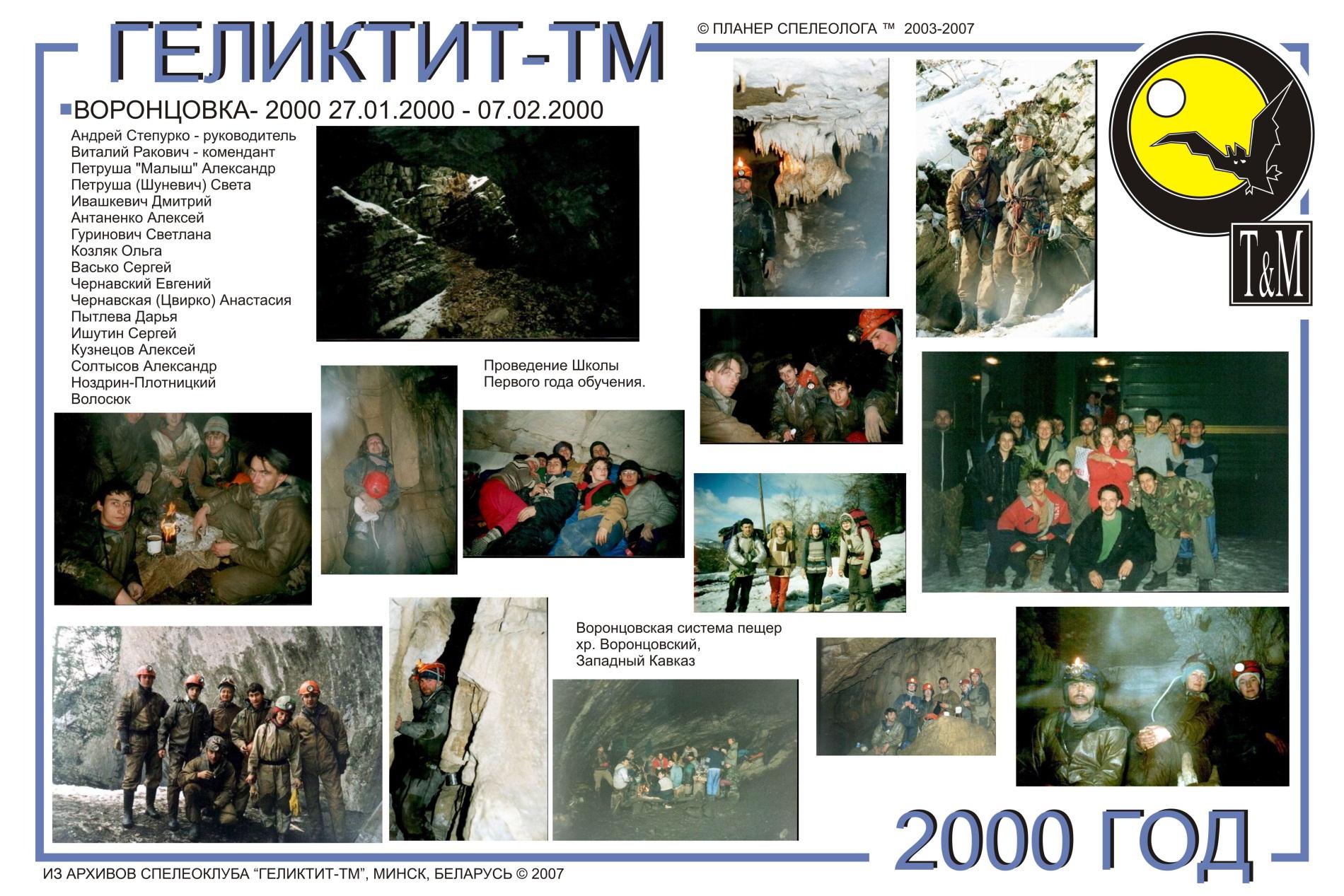 Воронцовка 2000 год
