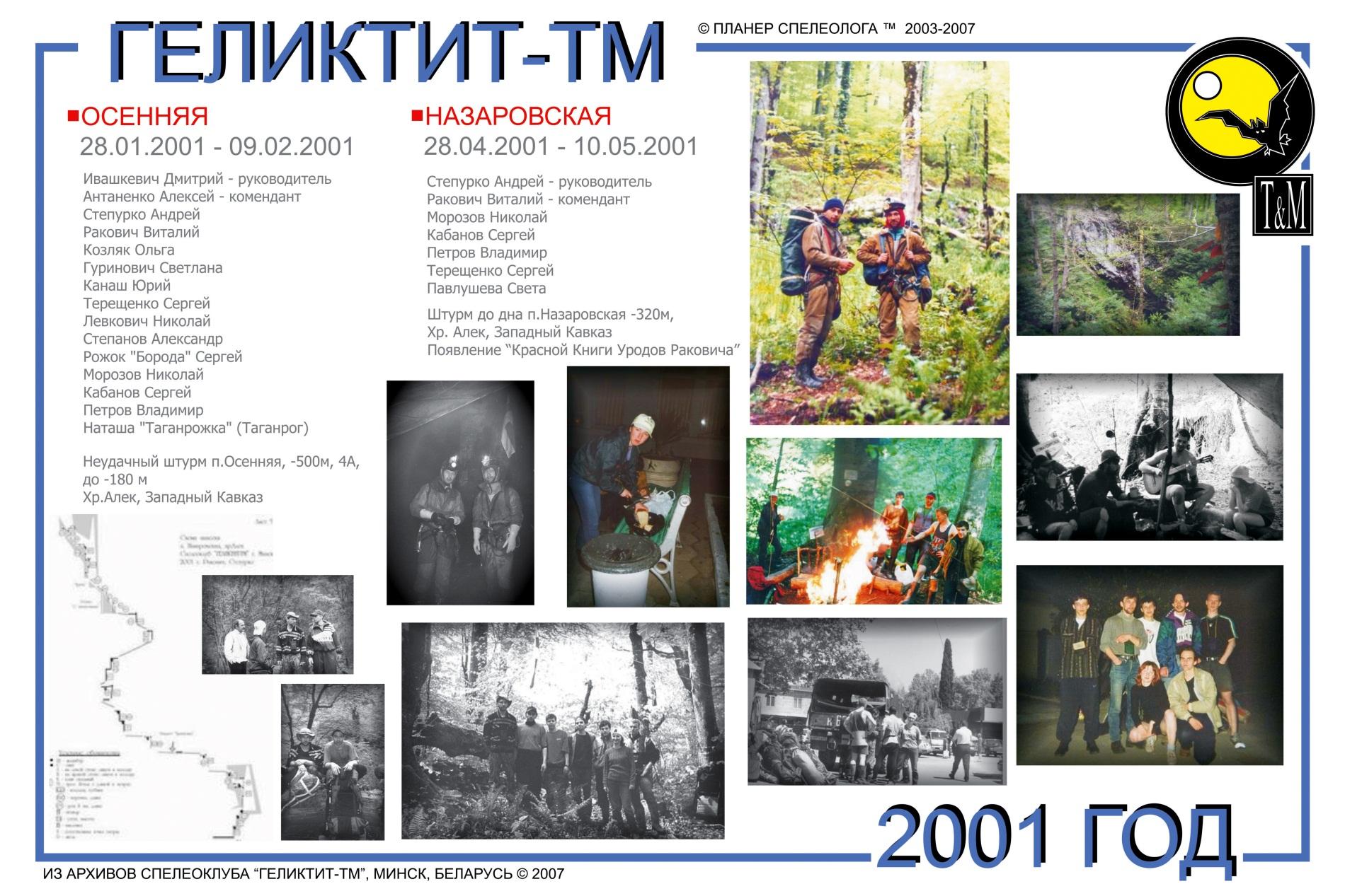 Алек 2001 год