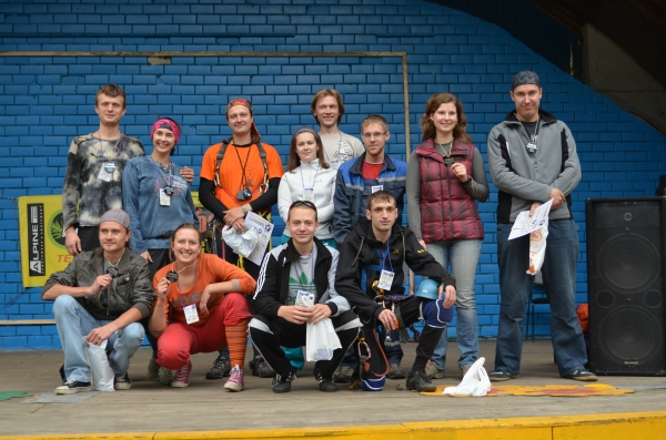 Участники CaverSity 2013