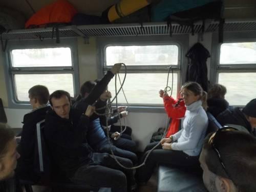 вязка узлов в поезде